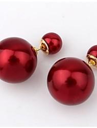 Sando Women's Hot Selling Popular Simpe Pearl Earrings