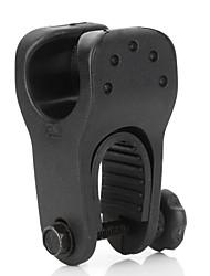 Universal Motorcycle Cigarette Lighter Flashlight Holder   (Black)