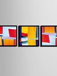 Fantasia Quadros Emoldurados / Conjunto Emoldurado Wall Art,PVC Preto Sem Cartolina de Passepartout com frame Wall Art