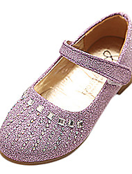 Bailarinas ( Rosado/Púrpura/Plateado/Dorado ) - Dedo redondo - Sintético