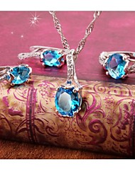 Women's Jewelry Sets Round Handmede Jewelry Sets