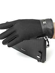 The Wool Palm Touch Screen Gloves for Men