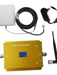 nova 1800MHz dcs980 móvel celular amplificador booster de sinal repetidor com painel e chicote antena