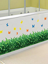 Wall Stickers Wall Decals, Style Small Grass PVC Wall Stickers