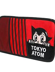astro jongen cartoon auto multifunctionele vizier set van cd klem voertuig ontvangt tas cd-pakket