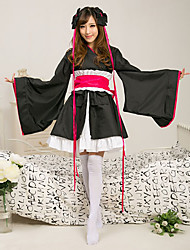 Machine-Doll Miko Kimono Japanese Maid Costume