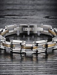 Super Cool Male Hand Catenary of Fine Steel Personality is Made of High-quality Goods Bracelet