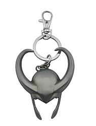 style tête de taureau jouets anneau de clés en alliage de zinc