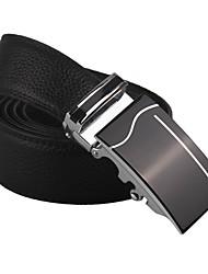 Business Men's Belt Fashion Genuine Leather Belt Metal Buckle Brand Business Gift Belt For Men Boyfriend Birthday Gift