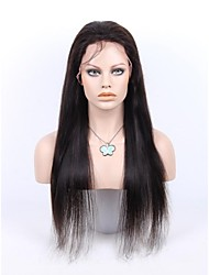 Peluca - para Mujer - Cabello natural - Negro - Rectos