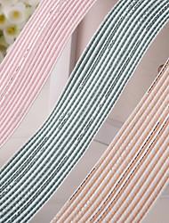 Gorgeous Sliver Stripe Ribbon(More Color)