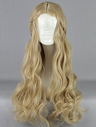 Flaxen Wig High Temperature Wire Cartoon Characters