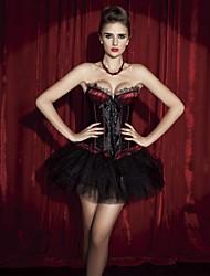 sexy impressão lingerie de renda corsets shapewear ouro shaper das mulheres