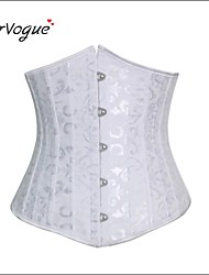 Bustier Sous Poitrine ( Coton/Polyester/Elasthanne/Modal ) Agrafes & Crochets/Rubans