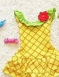 Girl's Pineapple Jumpsuit Swimsuit