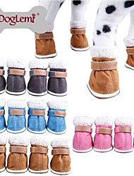Dog Socks & Boots Blue / Brown / Pink / Gray Spring/Fall Waterproof / Cosplay, Dog Clothes / Dog Clothing-Doglemi