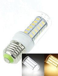 E27 9W 48x5630SMD 1800LM 3500K 6000K Warm White/Cool White Decorative Corn Bulbs  AC110-240V