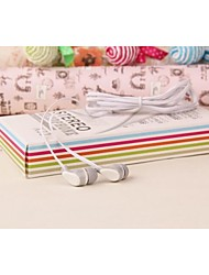 X32 Text Book Style Jelly Color In-Ear Headphones for iPhone And Other (Assorted Colors)