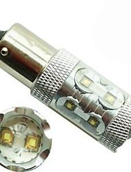 1pcs High Power 10 CREE LED Light 1156 50W 360 Degree Car Turn Signal Light Rear Tail Stop Bulb Brake Lamp