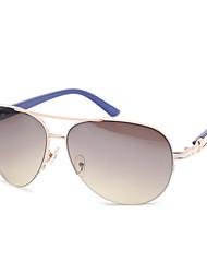 100% UV400 Aviator PC Fashion Sunglasses