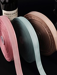 "1""Gorgeous Wood Grain Organza Ribbon(More Color)"