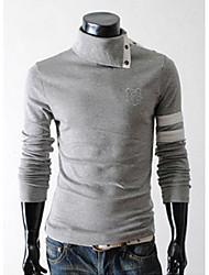 causual camisa moda outono homens bill