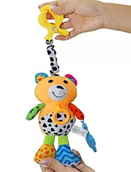 Babyfans ™ Baby Lovely Bear Shaped Stuffed Music Voice Flexible Activity Educational Hanging Toys