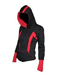 Video Game Red and Black Hoodie Cosplay Costume