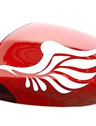 adesivi per auto di specchietto retrovisore con ali d'angelo