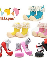 Attipas Super Lightweight Baby Girls Infant Shoes Anti-slide First Walker Ballet Lovely Toddler Shoes