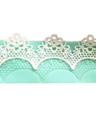 acessórios para flores rendas instantânea bolo de molde de silicone ferramentas de cozimento de cozinha decorações para bolos fondant
