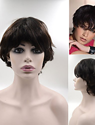 #2 Brazilian Human Hair wig wigs Exquisite Women's Hairstyle Brown Elegant Short Hair Wigs In Stock GH01