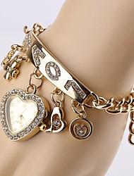 Bracele Relógio - Mulher/Crianças - Quartz - PU