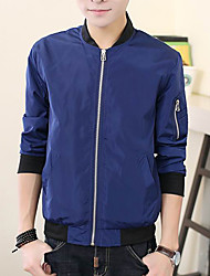 Men's Long Sleeve Jacket , Others Casual/Work/Formal