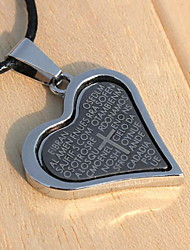 Qinuo Korean Cross Necklace