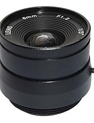 "F1.2 1/3"" Fixed Iris IR Lens 8mm Closed-circuit Television CCTV Lens for Security Surveillance CCTV Video Camera"