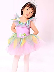 Kids' Dancewear Ballet Children's Polyester/Lycra Sweet Princess Performance Dress
