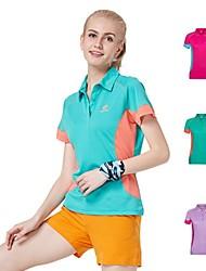 Femme Hauts/Tops / T-shirt Camping & Randonnée / Chasse / Fitness / Courses / Sport de détente / Badminton / Basket-ball / Cyclisme/Vélo