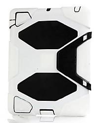 Coques Arrière (Silicone , Couleurs assorties) - Design spécial pour Pomme iPad 2/iPad 4/iPad 3