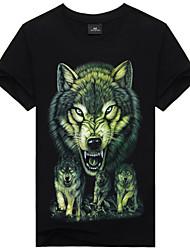 ruilike®men casual gedrukte grote maten t-shirts