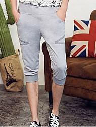Shorts ( Schwarz/Grau , Baumwolle ) - für Freizeit - für MEN - Reine