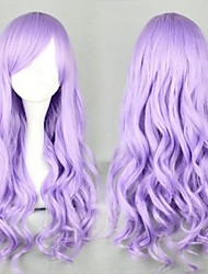Fashion Girl Purple Big Waves of High Quality Synthetic Hair