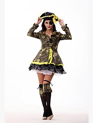 Pirates of the Caribbean Female Cosplay Cosplay Costumes Top/Hat/Waist Accessory
