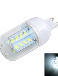 G9 5W  Cross Board 32-5730 SMD 500LM 3000K/6500K Warm/Cool White Light LED Corn Bulb (AC 220~240V)