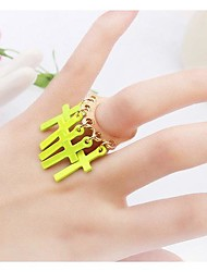 Tina -- Korean Fashion Alloy Personality Popular Ring in Daily