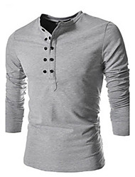 H2O Men's Casual Shirt Collar Short Sleeve T-Shirts