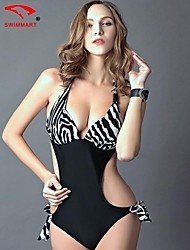 Bikinis/Una sola prenda/Accesorios de natación/Blusa Traslúcida ( Nilón/Poliéster/Spandex )- Sin Cables/Sujetadores con relleno - Sin mangas para