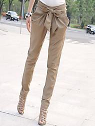 pantalones harén de mujeres de moda elegante (más colores)