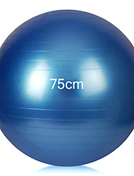 Women's Extrude Lose Weight Anti-explosion Professional Yoga Ball 75CM (Random color)