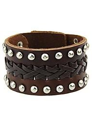Leder - Lederen armbanden - Armbanden - voor Feest/Dagelijks/Causaal - #